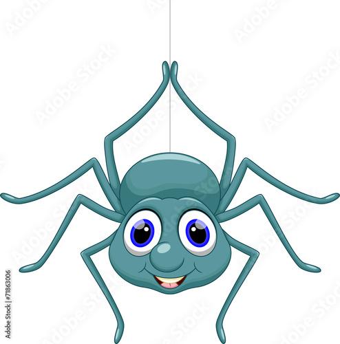 Cute spider cartoon - 71863006