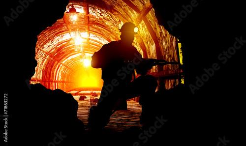 The mine. - 71863272