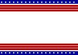 Patriotic frame bord...