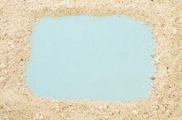 砂のフレーム