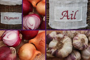 Ail et Oignon  - Ingrédients culinaires