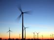 Windräder in der Abendsonne - 71864612