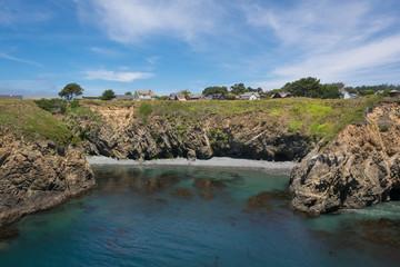 Mendocino, the coast