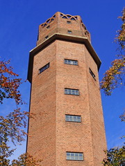 Wasserturm in St. Tönis ( Tönisvorst ) - bei Krefeld