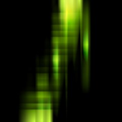 Conceptual dark green stripes vector background