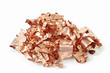 Copper Scrap from XLPE Cable on white background - 71866802