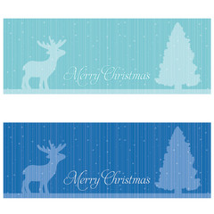 Festive banners. Christmas and holiday theme.