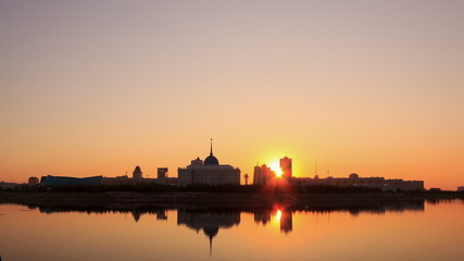 New Astana. Presidential Palace. Astana, Kazakhstan