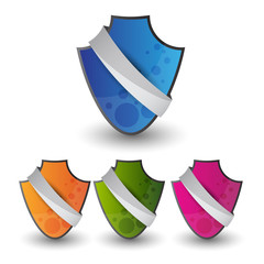 empty web banner or security shield