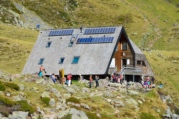 Refuge d'Ayous in the Atlantic Pyrenees