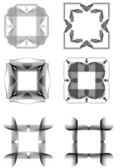Vector Illustration geometrical mosaic pattern