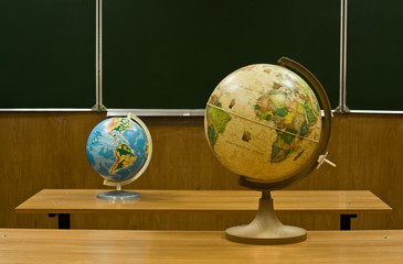 globes are in a class