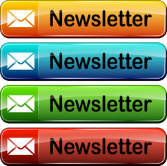 newsletter web buttons