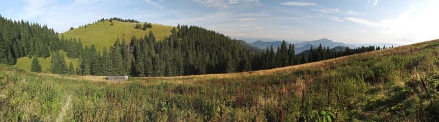 Borisov mountain from Ploska in Velka Fatra mountains
