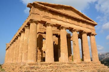 Italie, Sicile, Temple de la Concorde, Vallée des temples