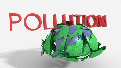 Pianeta schiacciato da inquinamento