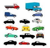 Lots of vehicles illustrations