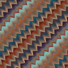 Diagonal geometric chevron