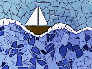 yacht mosaic