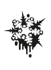Schneestern Graffiti