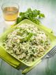 risotto with arugula