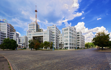 "State Industry Building or ""Gosprom"". Kharkov."