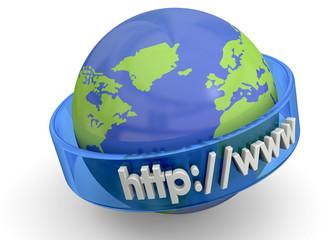 Internet Concept - 3D