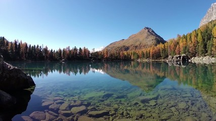Lago Saoseo in autunno
