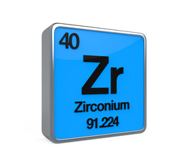Zirconium Element Periodic Table
