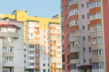 New multi-storey, brick home in the city quarter