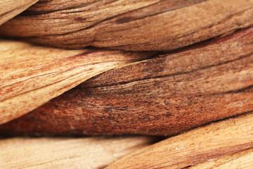 Wicker texture (macro)