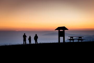 monte pizzoc tramonto 7989