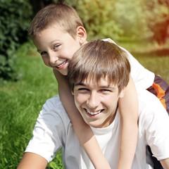 Happy Brothers Portrait