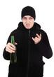 Hooligan with a Beer