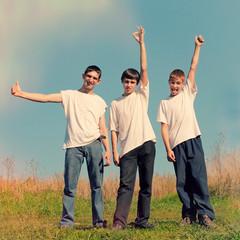 Three Friends outdoor