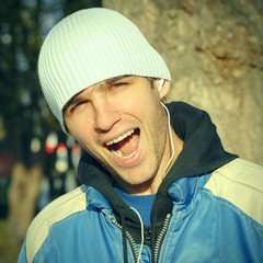 Happy Young Man Portrait