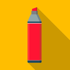 Vector flat marker pen icon