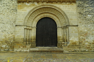 puerta gotico baza