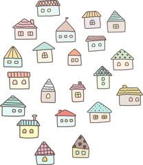 たくさんの小さな家