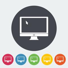 Monitor icon.