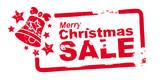 Christmas Sale, Stempel rot - 71882878