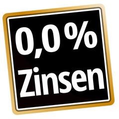 0,0 % Zinsen