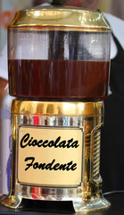jar of PLAIN CHOCOLATE for sale to the Italian market