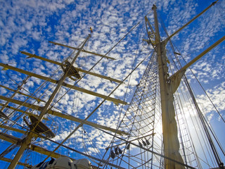 Masts of Tallship