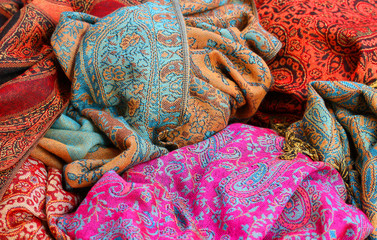 soft fabric for ethnic scarves for sale