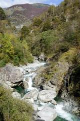 River on Vergeletto valley
