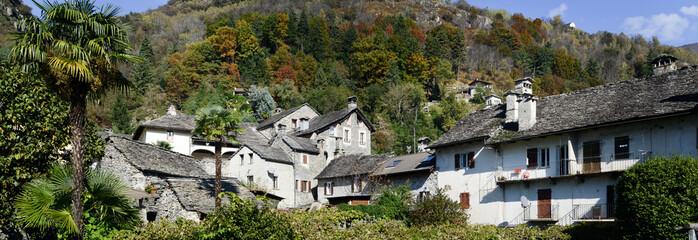 The rural village of Verscio