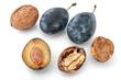 plums & walnuts