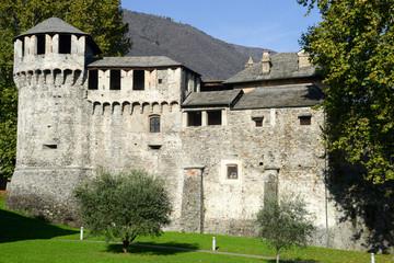 Visconteo castle at Locarno