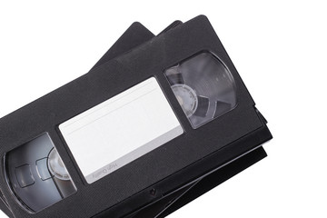 Video cassette VHS. Isolated